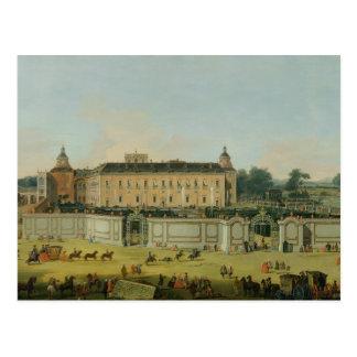アランフェス1756年の宮殿(キャンバスの油) ポストカード