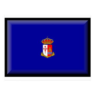 アランフェス(スペイン)の旗 ポストカード