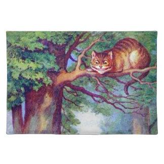 アリスおよびチェシャー猫 ランチョンマット