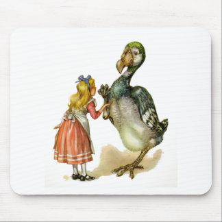 アリスおよびドードーの鳥 マウスパッド