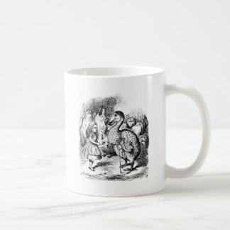 アリスおよびドードー コーヒーマグカップ