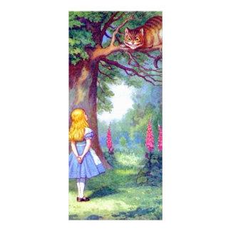 アリスおよびフルカラーチェシャー猫 ラックカード