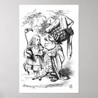アリスおよび公爵夫人 ポスター