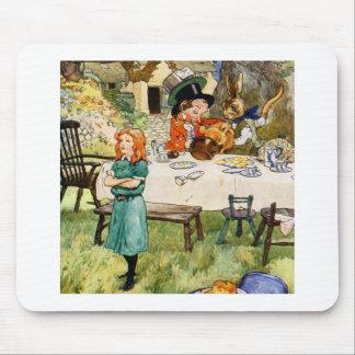 アリスおよび帽子屋のお茶会 マウスパッド