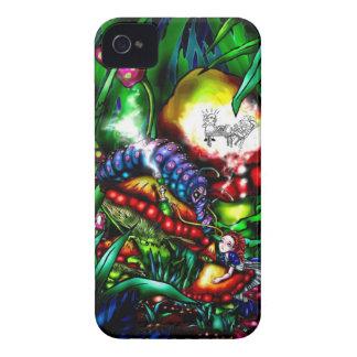 アリスおよび幼虫 Case-Mate iPhone 4 ケース