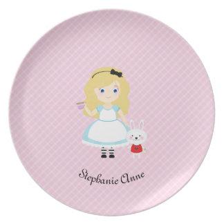 アリスおよび彼女のお茶会 パーティー皿