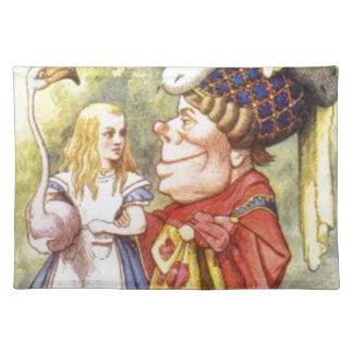 アリスおよび赤い女王 ランチョンマット