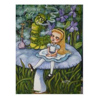アリスおよびCatapillar ポストカード