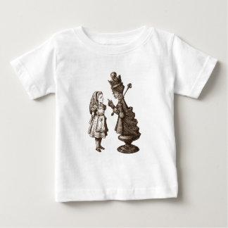 アリスとの会話 ベビーTシャツ