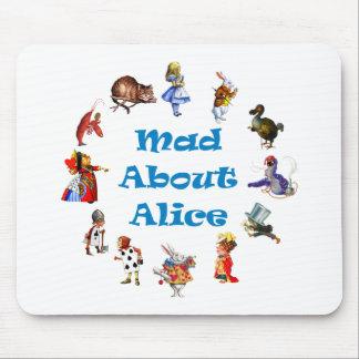 アリスについての不機嫌 マウスパッド