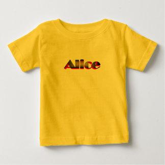 アリスのためのTシャツ ベビーTシャツ