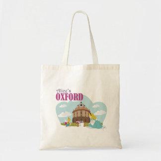 アリスのオックスフォードの予算の戦闘状況表示板 トートバッグ