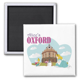 アリスのオックスフォード5.1 Cmの正方形の磁石 マグネット