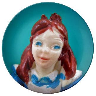 アリスのプレート 磁器製 皿