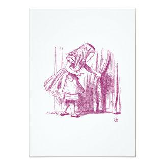 アリスの小さいドア カード