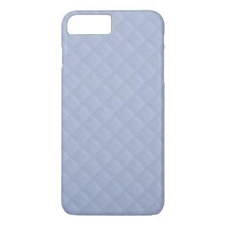 アリスの青い正方形によってキルトにされるステッチされたパターン iPhone 8 PLUS/7 PLUSケース