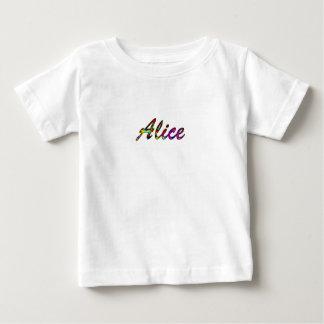 アリスのTシャツ ベビーTシャツ
