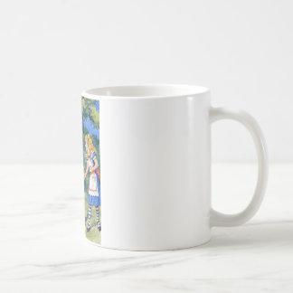 アリスは不思議の国のTweedledeeに会います コーヒーマグカップ