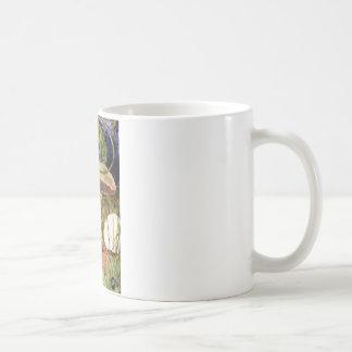 アリスは幼虫からのアドバイスを追求します コーヒーマグカップ