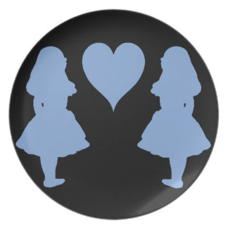 アリスへのタマキビ青いアリス パーティープレート