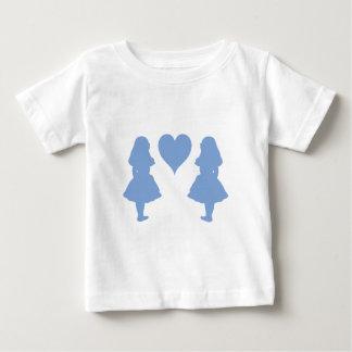 アリスへのタマキビ青いアリス ベビーTシャツ