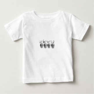 アリストテレスのベビーのTシャツ ベビーTシャツ