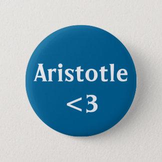 アリストテレス<3 5.7CM 丸型バッジ