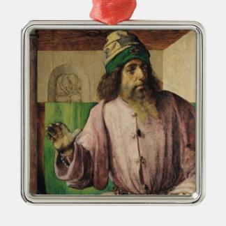 アリストテレス、c.1475のポートレート メタルオーナメント