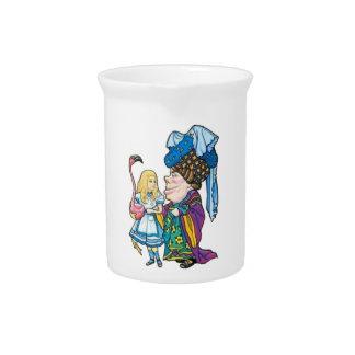 アリス及び公爵夫人Color ピッチャー