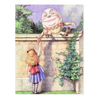 アリス及びHumpty色 ポストカード
