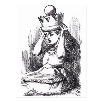 アリス女王 ポストカード