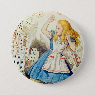 """アリス飛行のカジノカード- 3""""ボタン 7.6CM 丸型バッジ"""