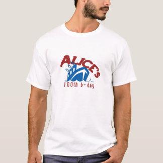 アリス100 Tシャツ