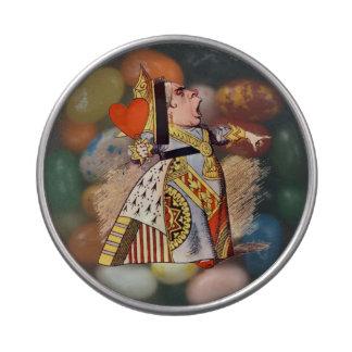 アリス-ハートの女王-ゼリーの腹 アメ缶