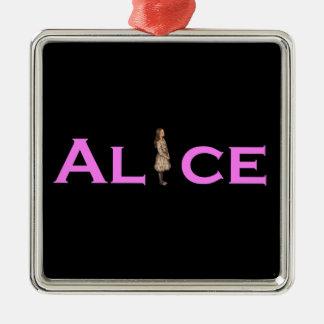 アリス メタルオーナメント