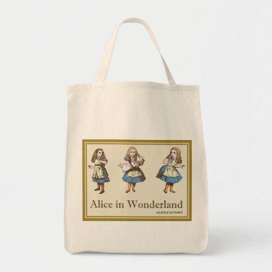 アリス ワンダーランド 0100 トートバッグ