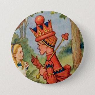 """アリス-赤い女王- 3""""ボタン 7.6CM 丸型バッジ"""