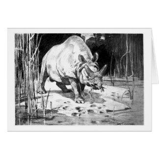 アリスB. Woodward: Titanotheriumの芸術カード カード