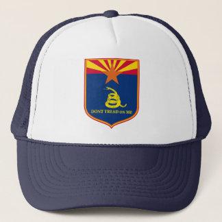 アリゾナおよびガズデンの旗の盾 キャップ