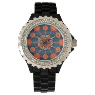 アリゾナのハリネズミの曼荼羅の配列の腕時計 腕時計
