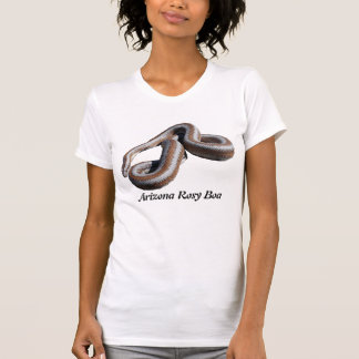 アリゾナのバラ色ボアの女性小柄いTシャツ Tシャツ