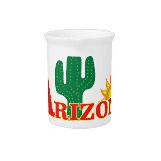 アリゾナのロゴのシンプル ピッチャー