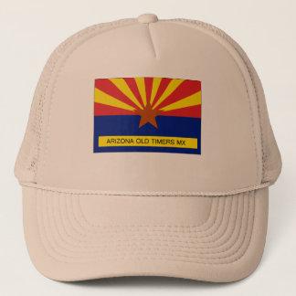 アリゾナの古顔MXの旗 キャップ