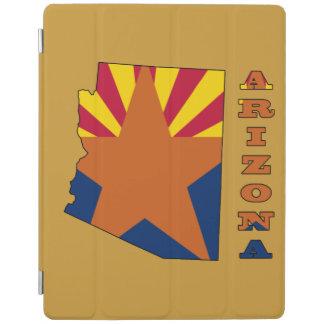 アリゾナの地図の旗 iPadスマートカバー