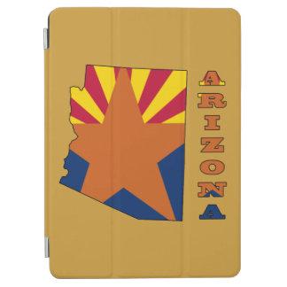 アリゾナの地図の旗 iPad AIR カバー