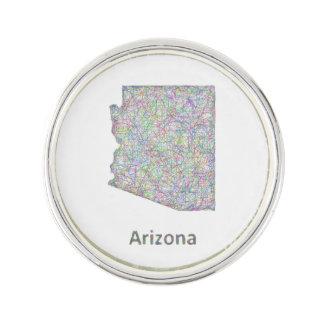 アリゾナの地図 ラペルピン