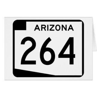 アリゾナの州のルート264 カード