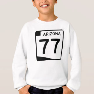 アリゾナの州のルート77 スウェットシャツ