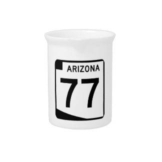 アリゾナの州のルート77 ピッチャー