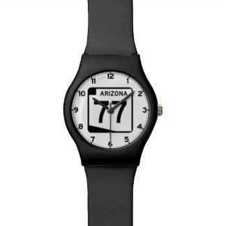 アリゾナの州のルート77 腕時計